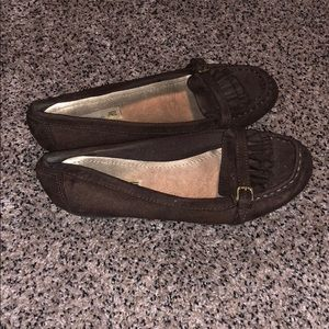 Brown American eagle flats size 6 1/2